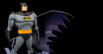 Batman ArtFX+ Abertura da Série Batman: The Animated Series (Kotobukiya)