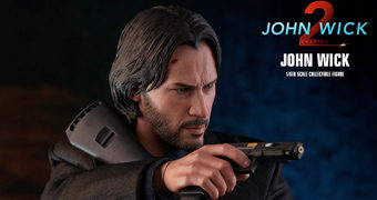 John Wick (Keanu Reeves) John Wick: Chapter 2 – Action Figure Perfeita 1:6 Hot Toys