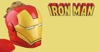 Pote de Cookies Iron Man Cookie Jar (Homem de Ferro)
