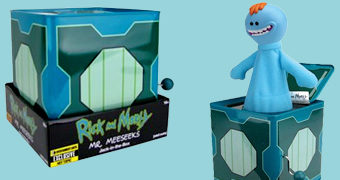 Mr. Meeseeks Jack-in-the-Box Rick and Morty