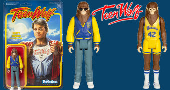 Action Figures Michael J. Fox ReAction como Lobisomem no Filme Teen Wolf (O Garoto do Futuro)