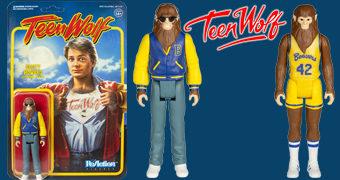 Action Figures Michael J. Fox ReAction como Lobisomem no Filme Teen Wolf (O Garoto do Futuro)