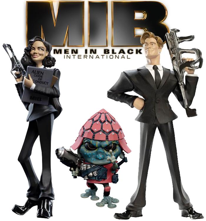 Figuras Estilizadas Weta Mini Epics De Men In Black