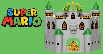 Playset Nintendo Castelo do Rei Bowser Koopa (Super Mario)