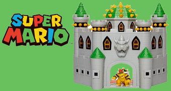 Playset Nintendo Castelo do Rei Bowser Koopa (Super Mario)