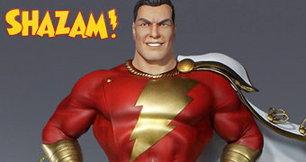 Maquete Tweeterhead Shazam Super Powers