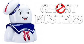 "Pote de Cookies ""Stay Puft Marshmallow Man"" Os Caça-Fantasmas (Ghostbusters)"