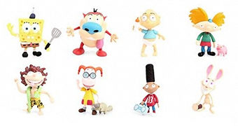 Mini-Figuras Nickelodeon Splat Action (Blind-Box)