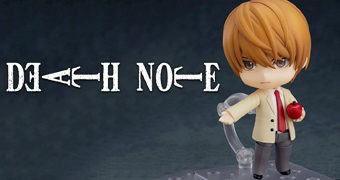Boneco Nendoroid Light Yagami (Death Note)