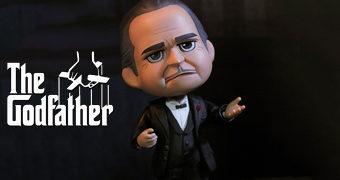 Boneco O Poderoso Chefão QBitz: Dom Vito Andolini Corleone