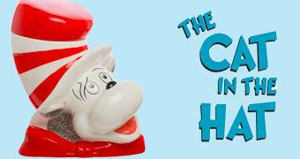 Pote de Cookies Gatola da Cartola de Dr. Seuss!