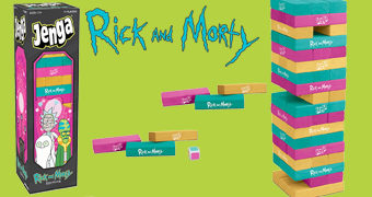 Jogo JENGA: Rick and Morty