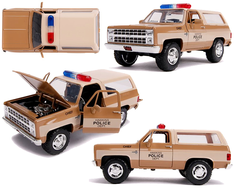 Carros de Metal 1:24 Hollywood Rides Stranger Things: Chevy