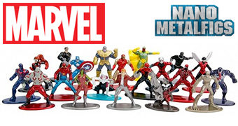 Mini-Figuras de Metal Marvel Nano Metalfigs