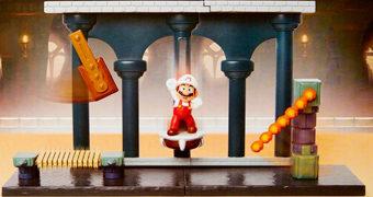 Playset Nintendo Castelo de Lava (Super Mario)