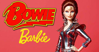 Boneca Barbie David Bowie Ziggy Stardust