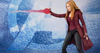 Action Figure S.H. Figuarts Feiticeira Escarlate (Elizabeth Olsen)