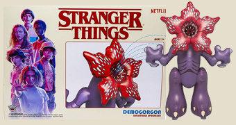 Boneco Inflável Gigante Demogorgon com 1,98m de Altura (Stranger Things)