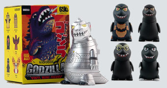 "Mini-Figuras Godzilla ""King of The Monsters"" Kidrobot (Blind-Box)"