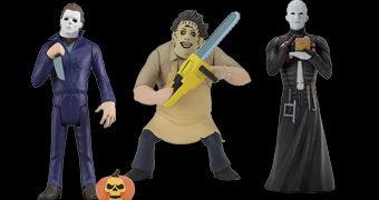Toony Terrors: Pinhead, Leatherface e Michael Myers no Estilo Desenho Animado