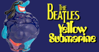 Pote de Cookies Blue Meanie The Beatles Yellow Submarine