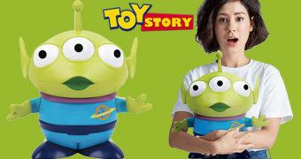 Cofre Alien Toy Story Gigante com mais de 40 cm de Altura!