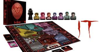Jogo de Tabuleiro IT Evil Below com Pennywise e o Clube dos Perdedores