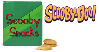 Pote de Cookies Scooby-Doo Scooby Snacks