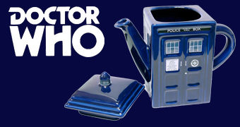 Bule de Chá TARDIS Doctor Who