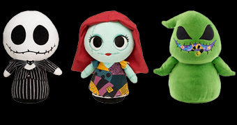 Bonecos de Pelúcia Nightmare Before Christmas SuperCute Plushies