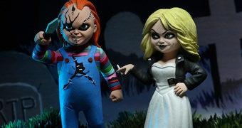 Toony Terrors: Chucky e Tiffany no Estilo Desenho Animado (Brinquedo Assassino)