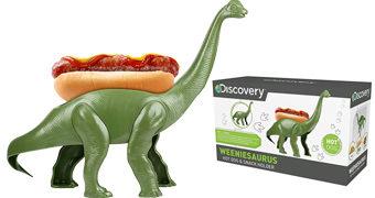 Porta Cachorro-Quente Jurássico Weeniesaurus, o Braquiossauro