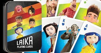 Baralho do Estúdio LAIKA: Coraline, Os Boxtrolls, Kubo e as Cordas Mágicas, ParaNorman e Missing Link