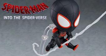 Boneco Nendoroid DX Miles Morales em Homem-Aranha: No Aranhaverso