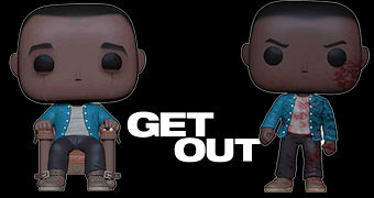 Bonecos Pop! de Chris Washington (Daniel Kaluuya) no Filme Corra! (Get Out)