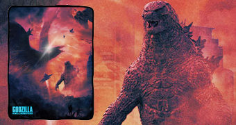 Cobertor de Lã Godzilla, o Rei dos Monstros