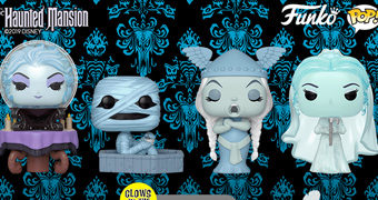 Bonecos Pop! 50 Anos da Atração Mal-Assombrada The Haunted Mansion dos Parques Disney