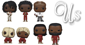 Bonecos Pop! do Filme Us (Nós) de Jordan Peele
