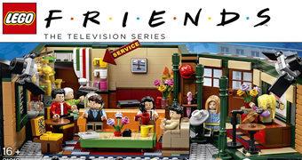 Central Perk LEGO – 25 Anos da Série Sitcom Friends