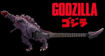 Guitarra Godzilla Monster Awakening por 52 Mil Dólares (R$207.000)