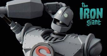 Action Figure de Metal Die-Cast do Gigante de Ferro (The Iron Giant)