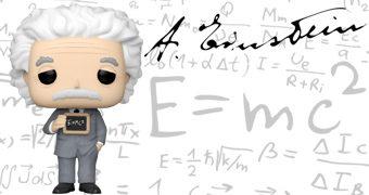 Boneco Pop! Albert Einstein
