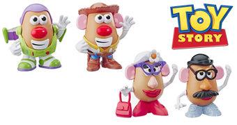 Bonecos Toy Story Sr. e Sra. Cabeça de Batata