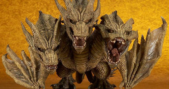 King Ghidorah DefoReal Chibi Realista/Deformado (Godzilla II)