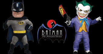 Action Figures Batman e Coringa Egg Attack Action (Batman: A Série Animada)
