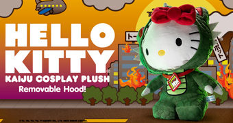 Boneca de Pelúcia Hello Kitty Cosplay Kaiju