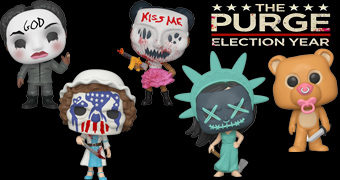 Bonecos Pop! The Purge (Uma Noite do Crime)
