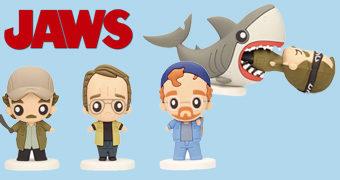 Mini-Figuras Fofinhas do Filme Tubarão (Jaws) de Steven Spielberg