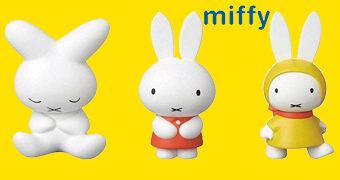 Mini-Figuras Gatinha Miffy UDF (60 Anos)