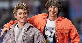 Bill & Ted Uma Aventura Fantástica (Keanu Reeves e Alex Winter) – Action Figures 1:6 Blitzway